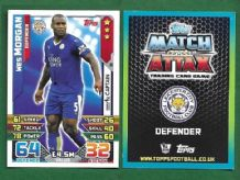 Leicester City Wes Morgan Jamaica 111